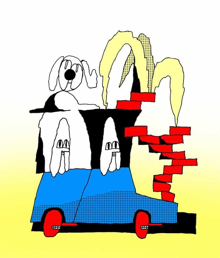 2 mujeres en un coche