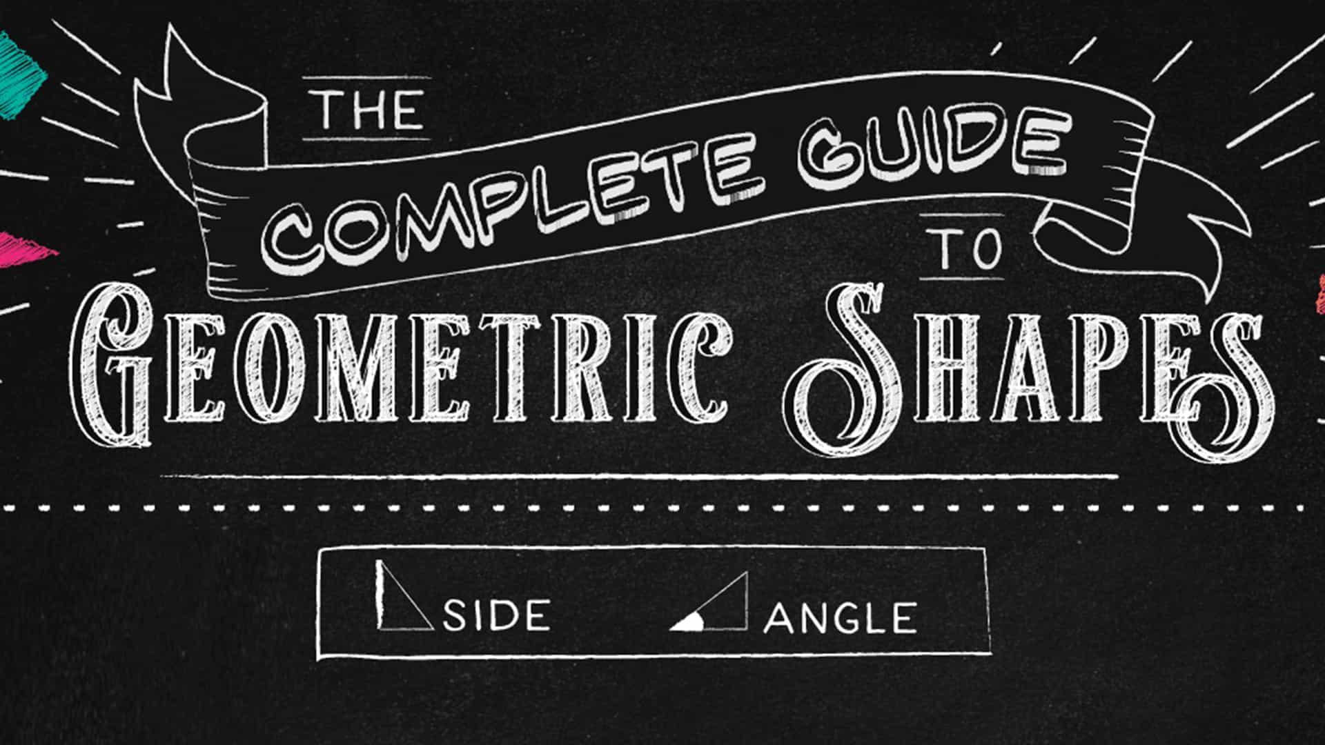 La guía de formas geométricas es completamente adictiva
