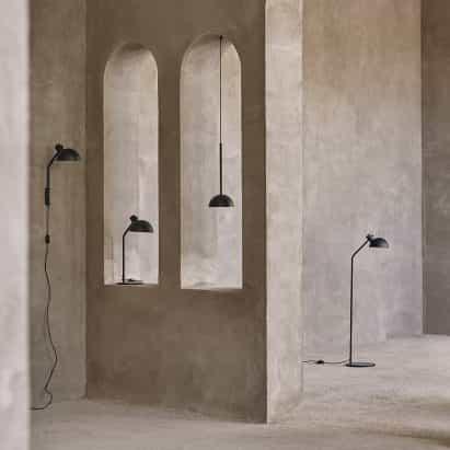 """Mads Odgård diseña """"más simple lámpara posible"""" por Carl Hansen & Son"""