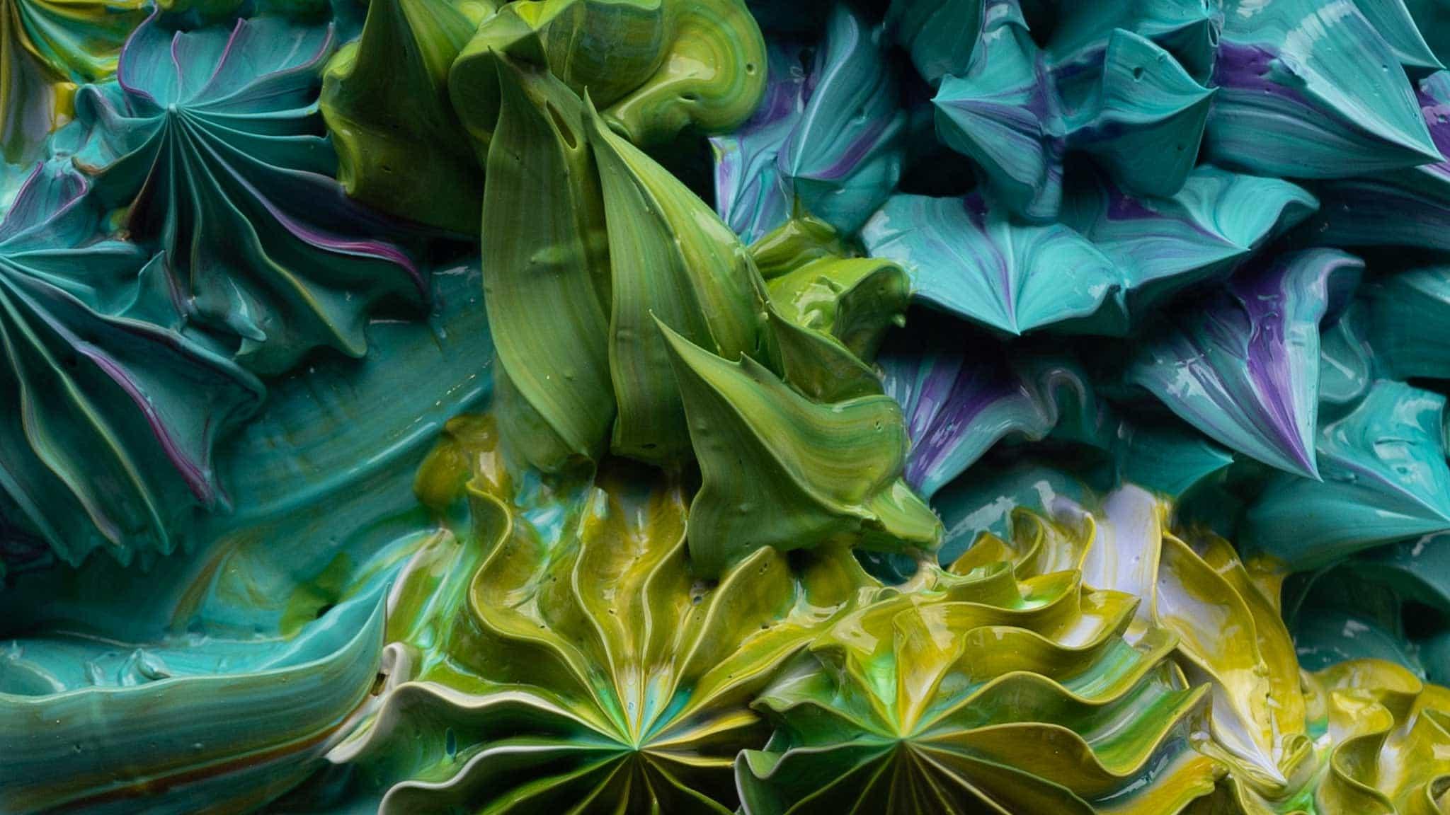 Esta pintura 3D es el nuevo material de arte que necesita ver (y tocar)