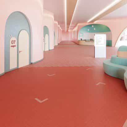 Studio Moods piso por IVC Commercial