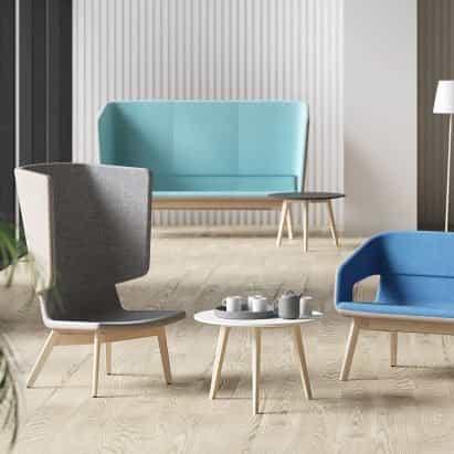 Asiento Twist & Sit Soft de Strand + Hvass para Narbutas