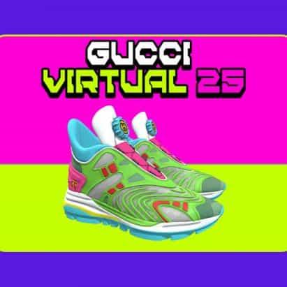 Gucci lanza la primera zapatilla virtual que solo se puede usar en entornos digitales