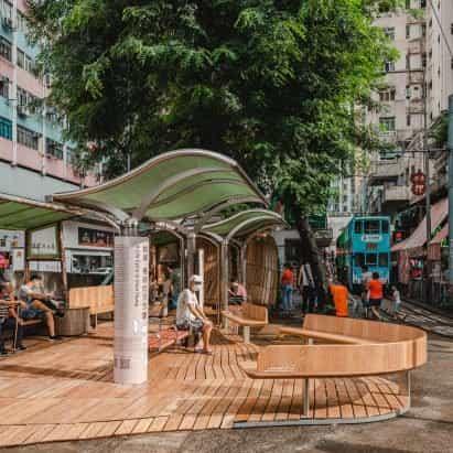 El Centro de Artes de Hong Kong anima el barrio de North Point con arte público