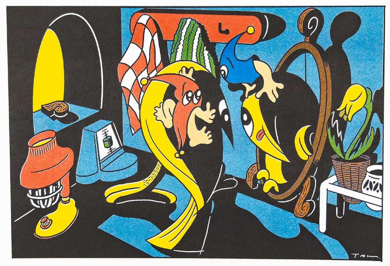 Diseñado para entretener: Conoce a Trampoline y sus impresionantes ilustraciones que combinan cómics, música y personajes pop
