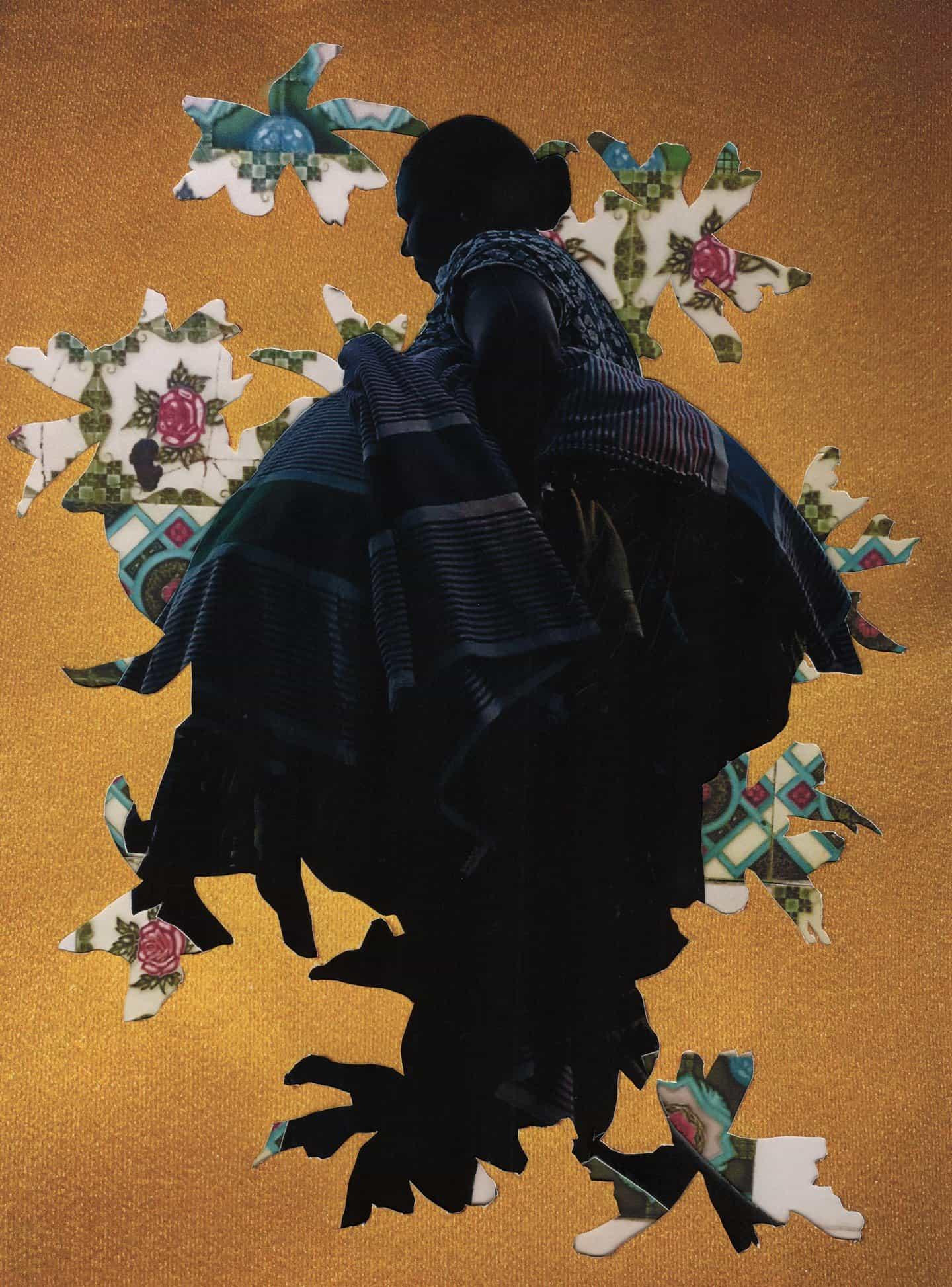 Jazz Grant: Woman Walking To Print (Copyright © Jazz Grant, 2021)