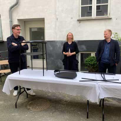 """""""Celebración"""" estado de ánimo, 3 Días de Diseño feria tiene lugar en Copenhague"""