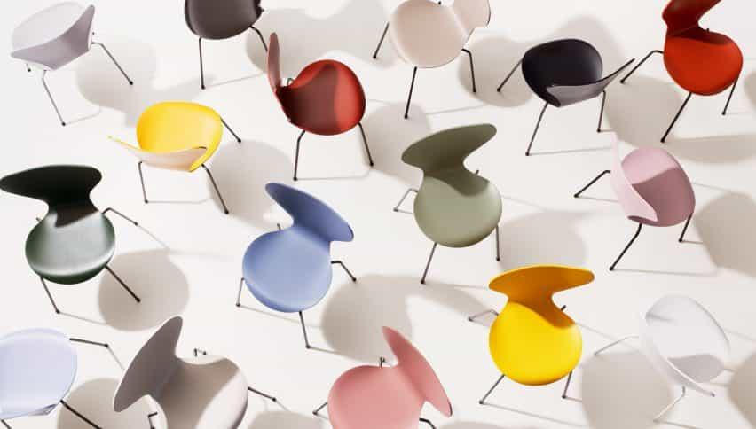 Fritz Hansen colección de colores a los 3 días de Copenhagen Design