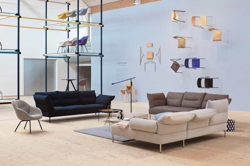 Hay sala de exposición de 3 días de Copenhague de diseño