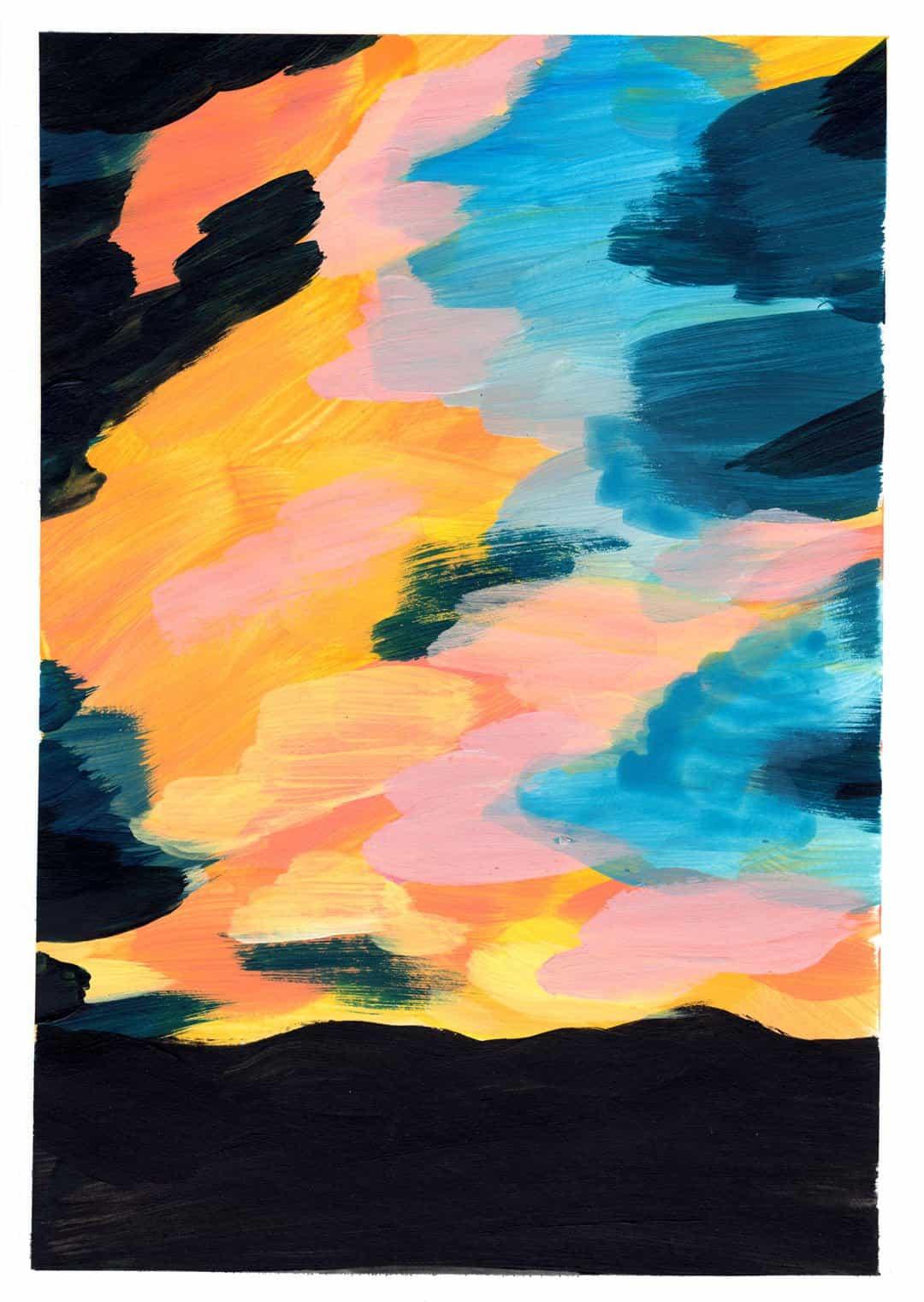 Expo, la puesta del sol