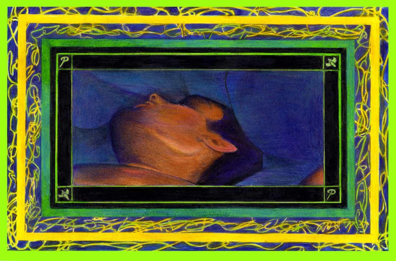 Éxtasis: Bajo el azul del edredón