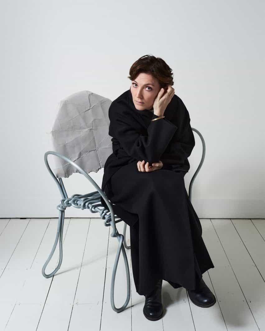 Diseño de Faye Toogood en charla Diálogo de VDF x Friedman Benda