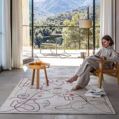 alfombras silueta de Jaime Hayon para Nanimarquina