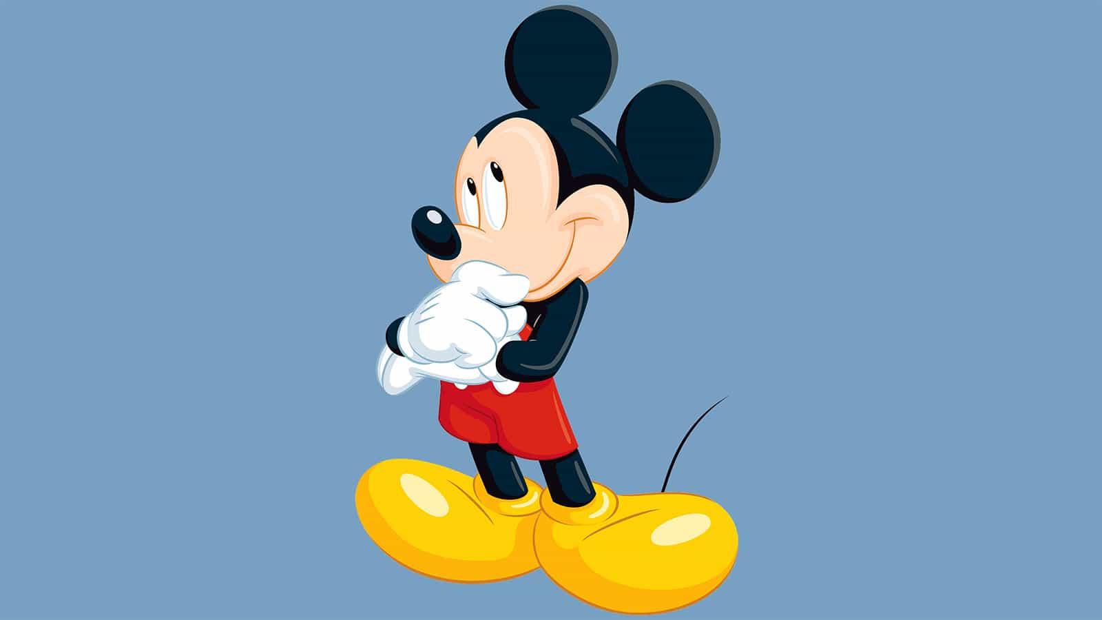 Mickey Mouse desde arriba sigue siendo lo más inquietante en línea