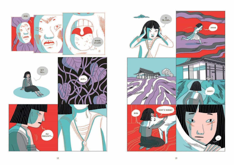 Elisa Macellari: Kusama: una biografía gráfica (Copyright © Laurence King, 2020)
