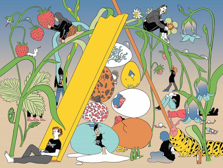 Descubrimos el viaje de Masha Krasnova-Shabaeva del artista fino de ilustrador