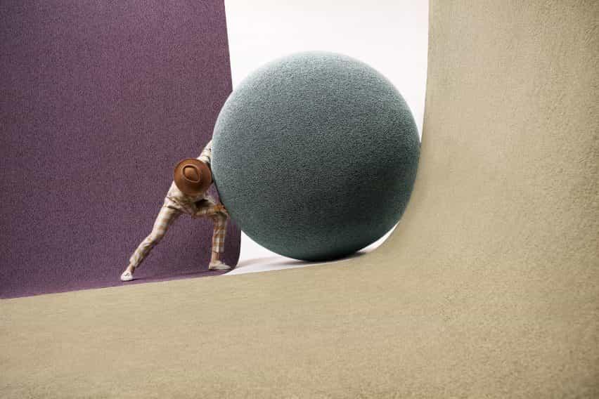 Objeto de la alfombra se une a Ippolito Fleitz Grupo para la nueva colección de alfombras