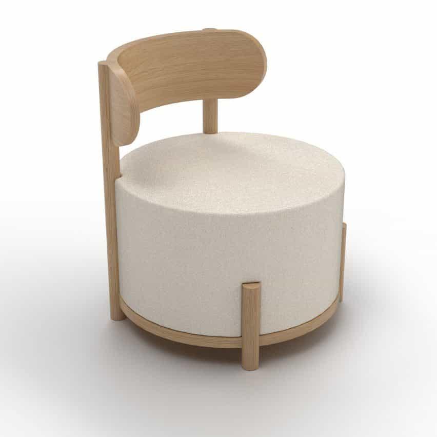 silla ocasional como parte de la Colección moderna granja de otro país