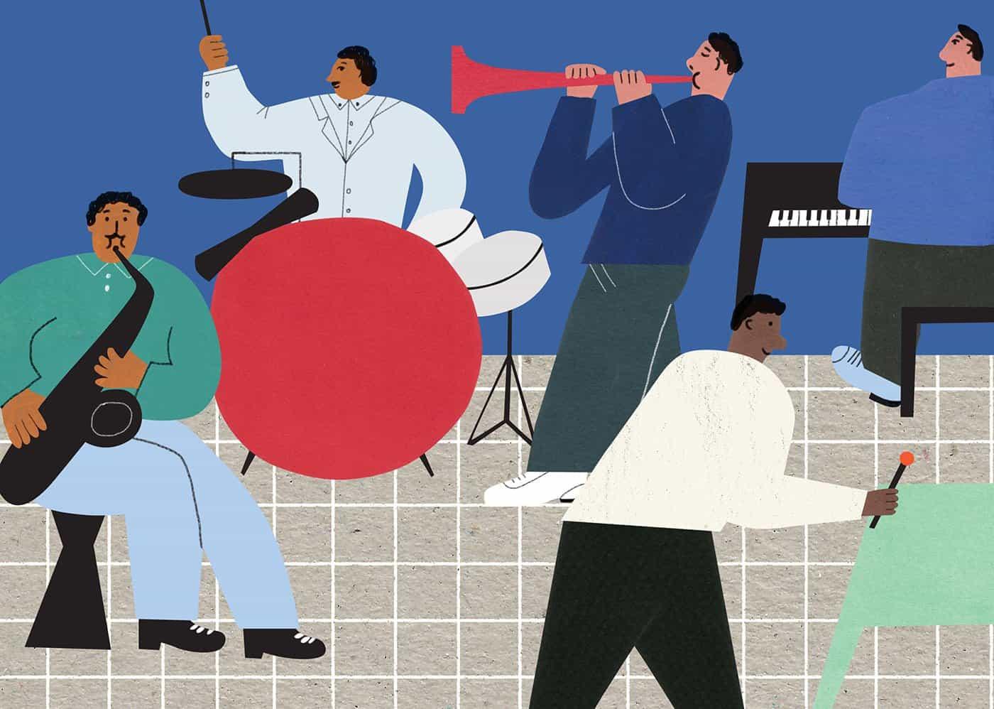 enfoque alegre de Yuxing Li a la ilustración es exactamente lo que necesitamos