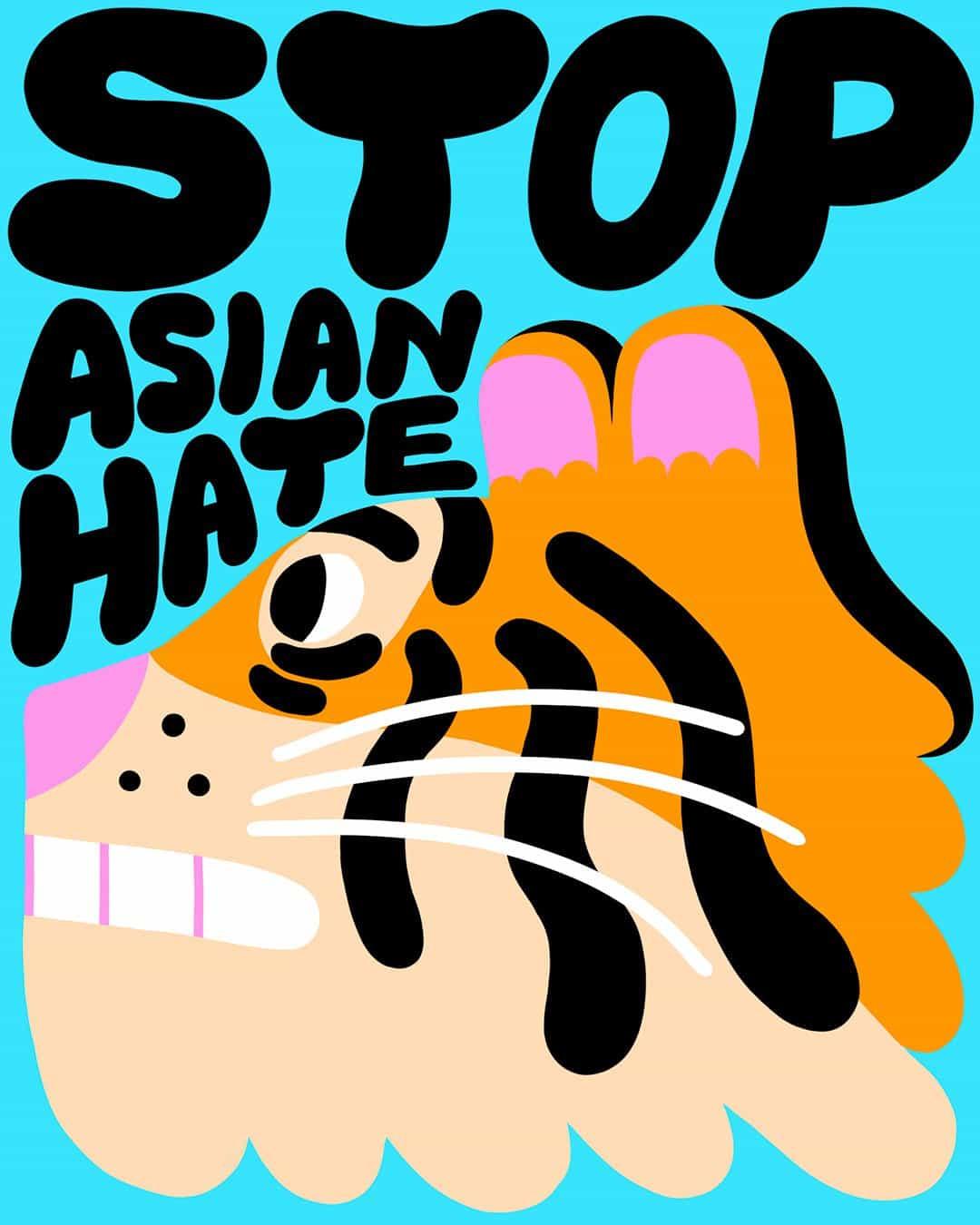 Yuk Fun y una banda de ilustradores están recaudando dinero para las organizaciones benéficas Stop Asian Hate