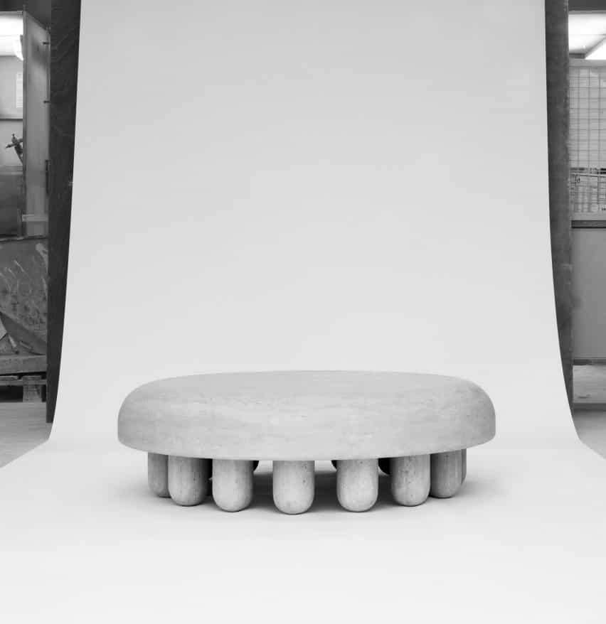 Orsetto 02 Mesa de café por Martin Masse para el Estudio veintisiete