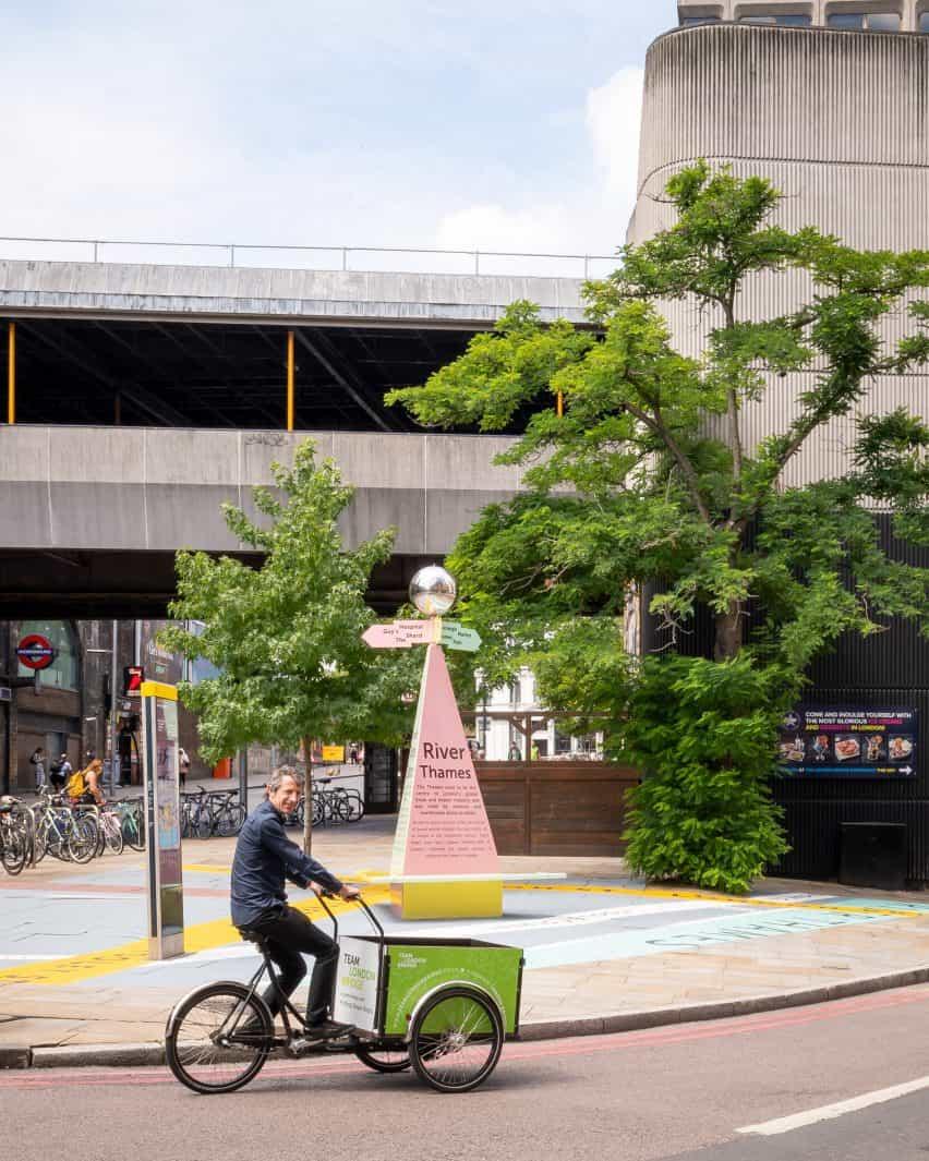 Charles Holland arquitectos diseña la instalación de encontrar el camino Tooley Street Triángulo para el Festival de Arquitectura de Londres