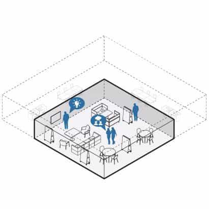Woods Bagot elabora diseños de oficina para los centros de trabajo de post-coronavirus