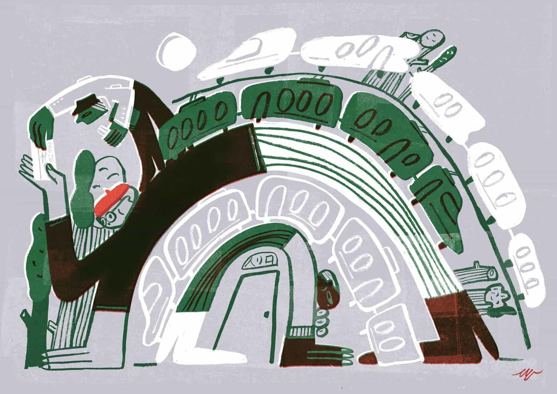 Lena Yokoyama utiliza la ilustración como herramienta de traducción para palabras o frases intrínsecadas