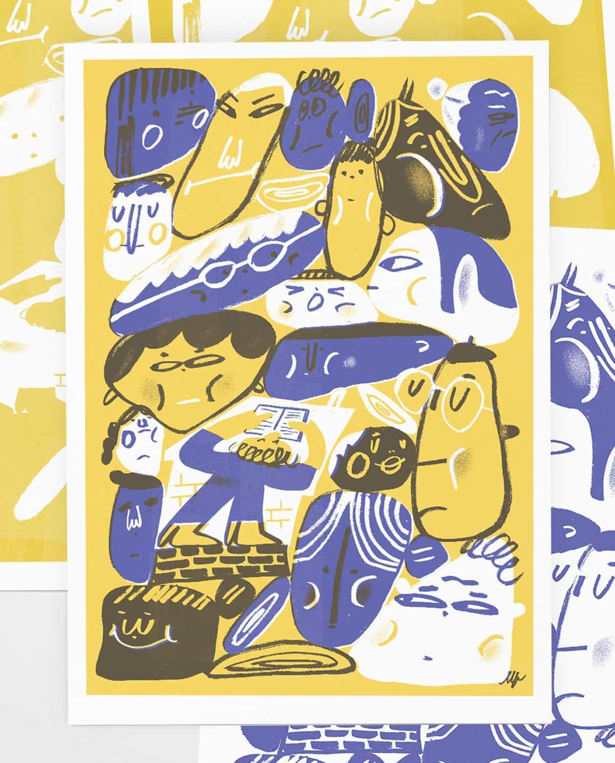 Lena Yokoyama: Traducciones visuales, entre las brechas de la sociedad (Copyright © Lena Yokoyama, 2021)