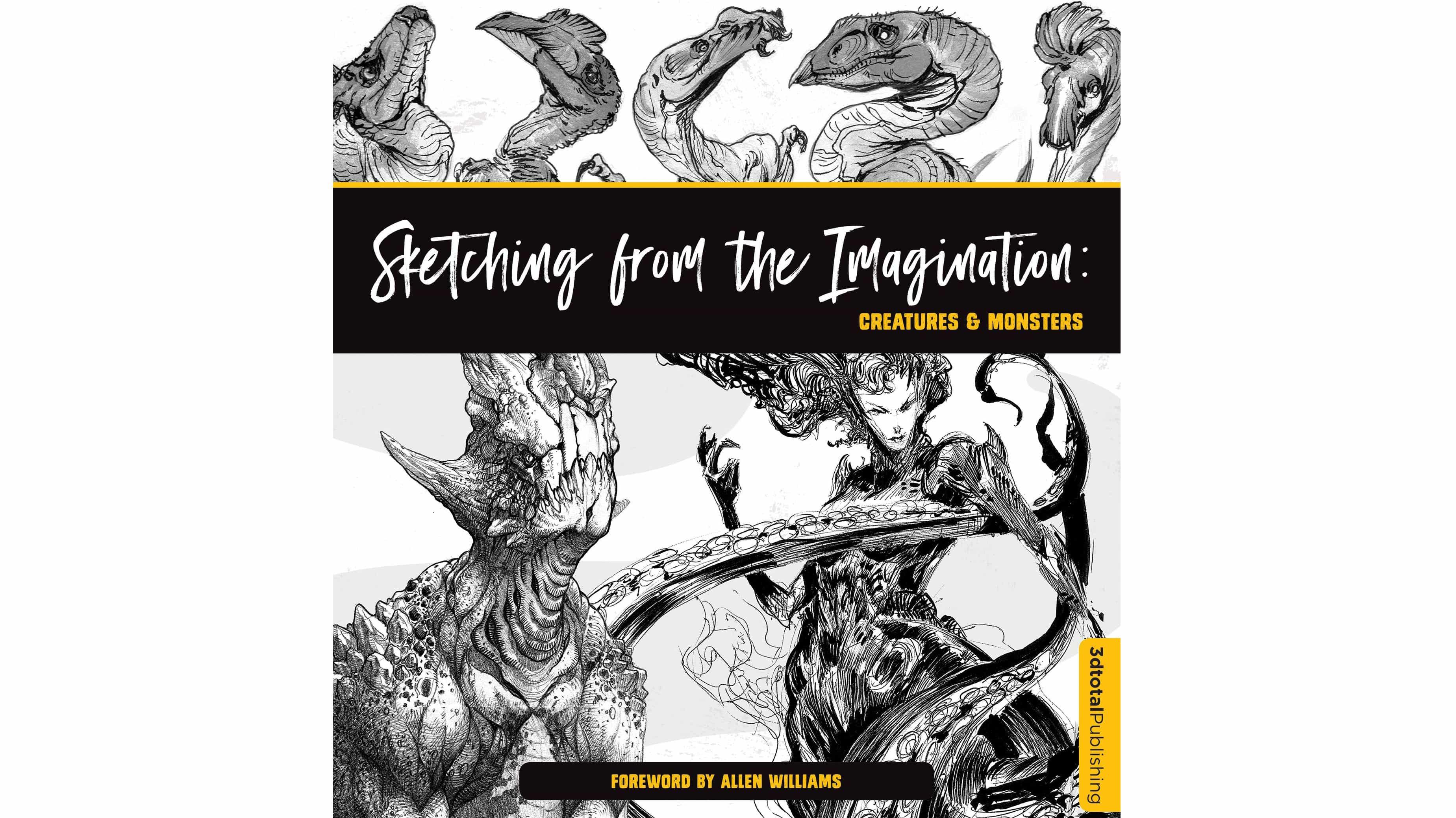 Bosquejar de la imaginación: Criaturas & Monsters opinión
