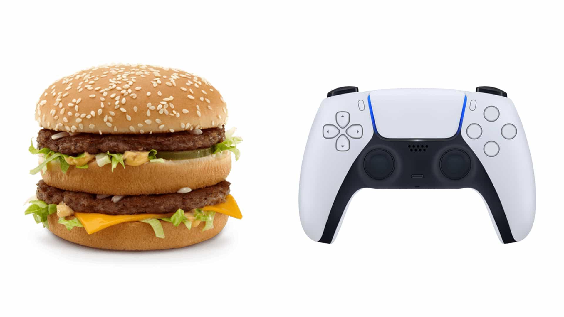 McDonald's revela accidentalmente su nuevo y espantoso controlador de PS5