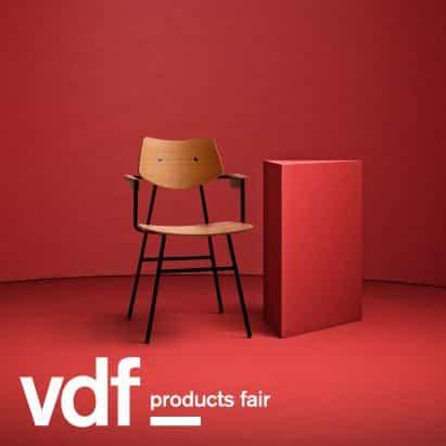 Rex Kralj revive diseños de muebles modernistas de productos VDF escaparate justo