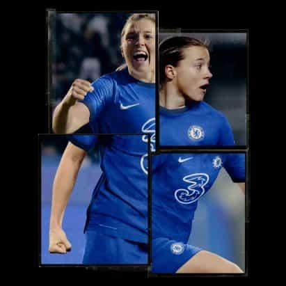 Nike revela espiga con estampado kit Chelsea informado por Savile Row