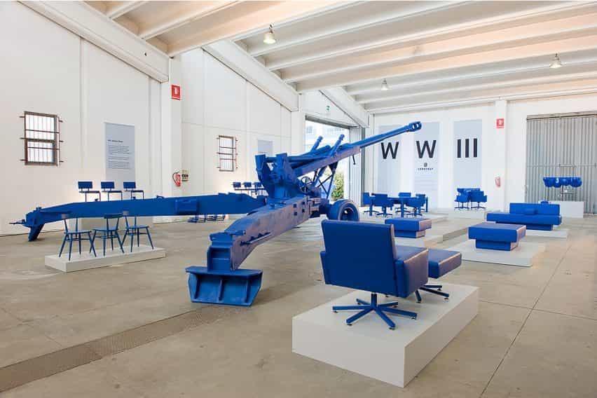 AVL SPR, que se muestra en la exposición Furnication WW-III en Milán