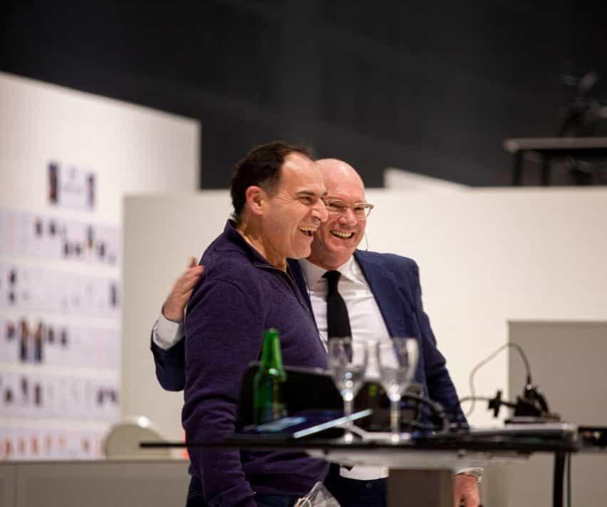Joep van Lieshout y Hans Lensvelt