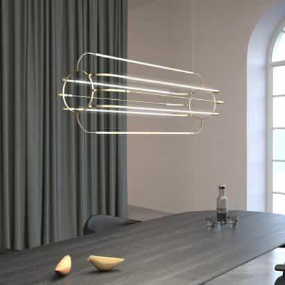 Luz colgante Charlotte de Daniel Becker Studio