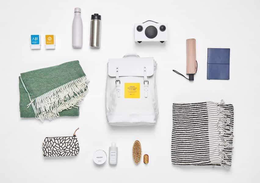 Sueca Design Museum aprieta última exposición en el interior de una mochila