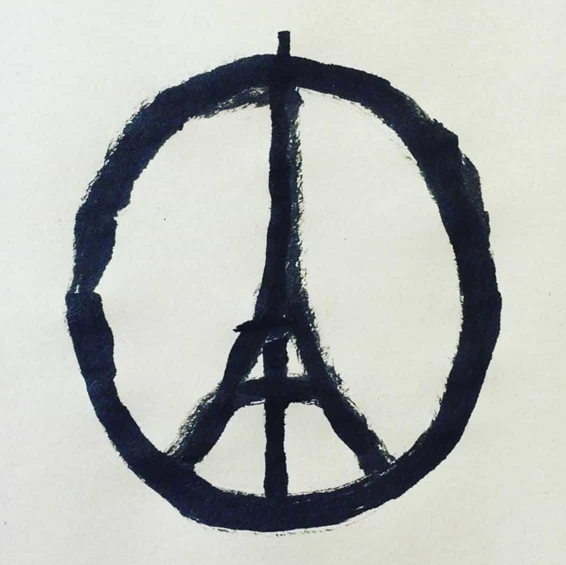 Jean Jullien: Paz de París símbolo