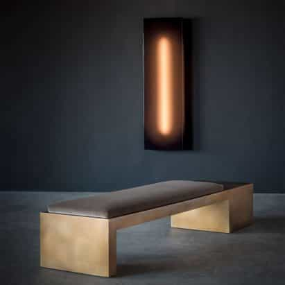 Banco Offset Cube de Videre Licet vía Twentieth Gallery