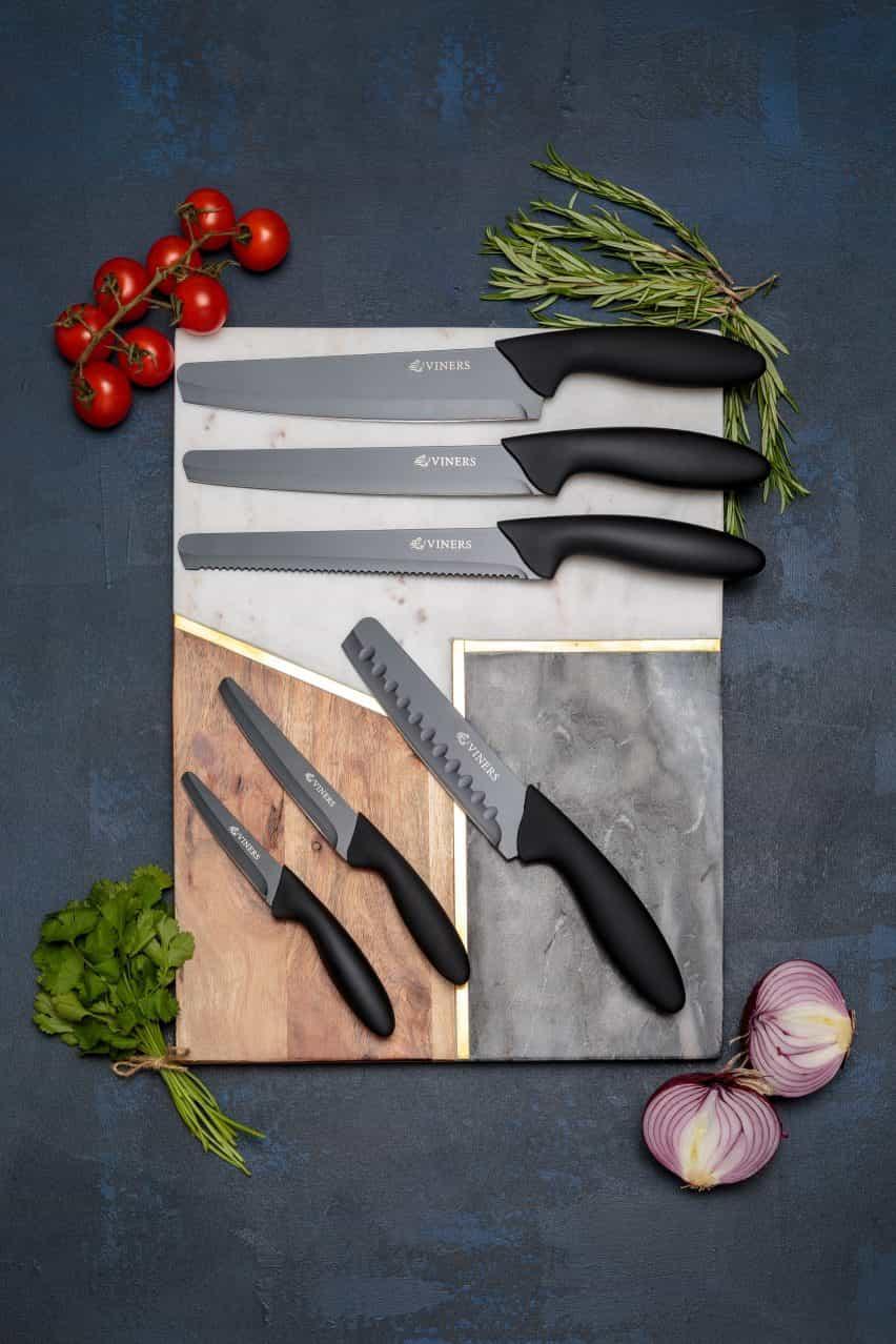 Viners hace cuchillos con puntas redondeadas en respuesta a agresiones con arma blanca