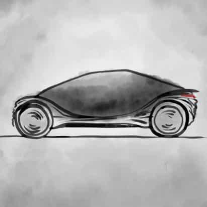Bocetos revelan concepto para el coche eléctrico de Heatherwick Studio
