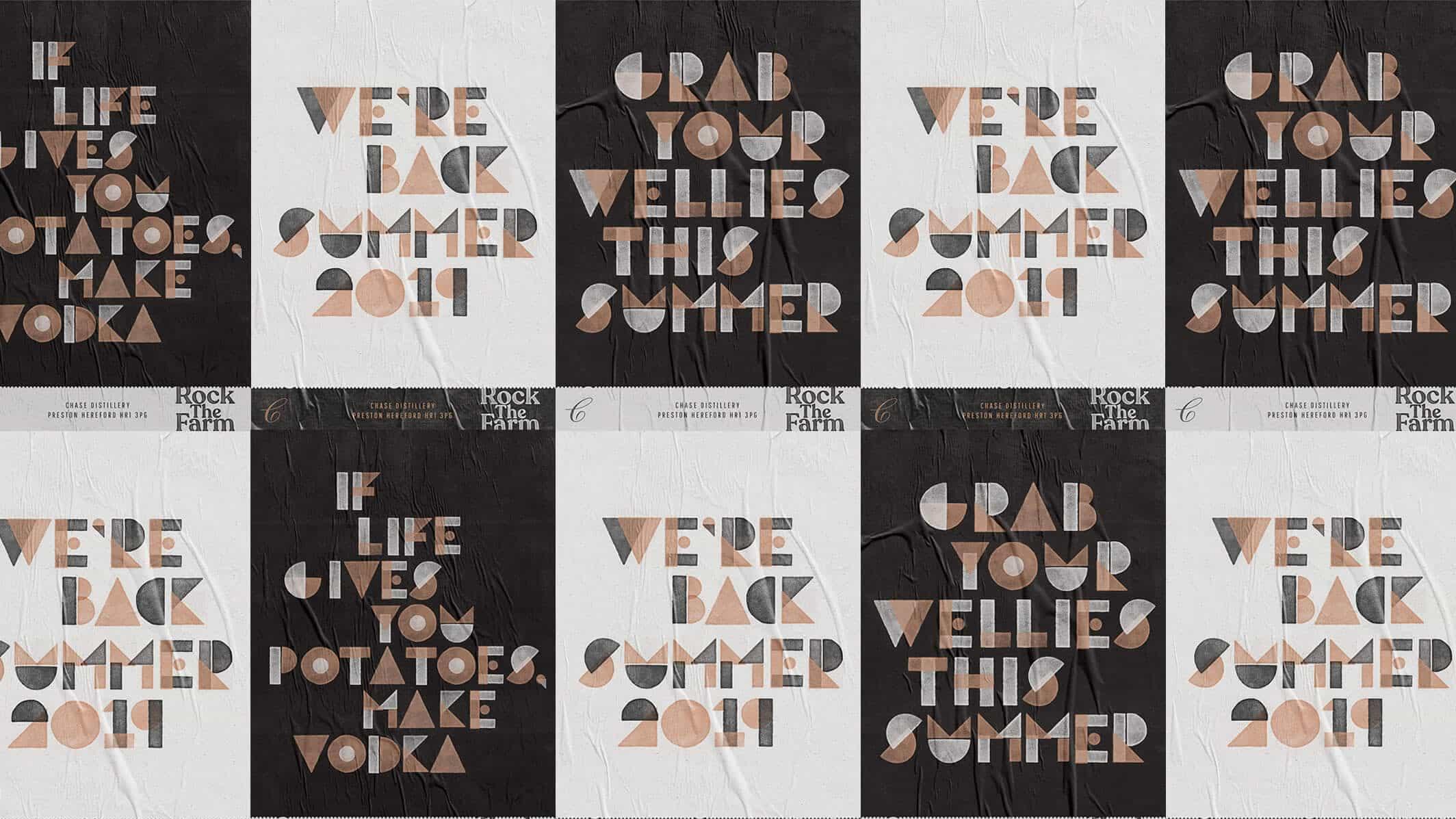 diseños de carteles: 46 ejemplos de inspiración