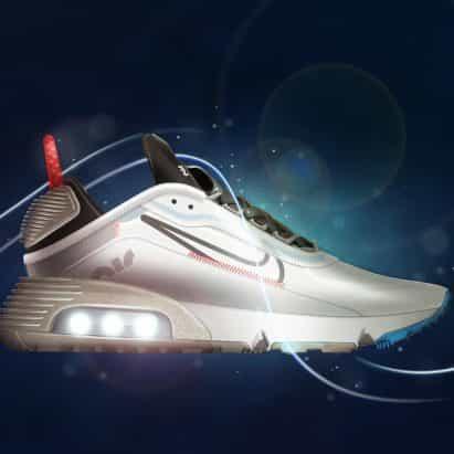 """Nike Air Max 2090 diseña para ser """"zapato del futuro"""""""