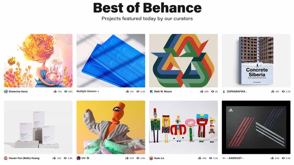 8 mejores plataformas de medios sociales para artistas y diseñadores