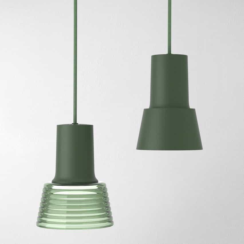 Lámpara colgante Compose Rail de Jens Fager para Zero Lighting