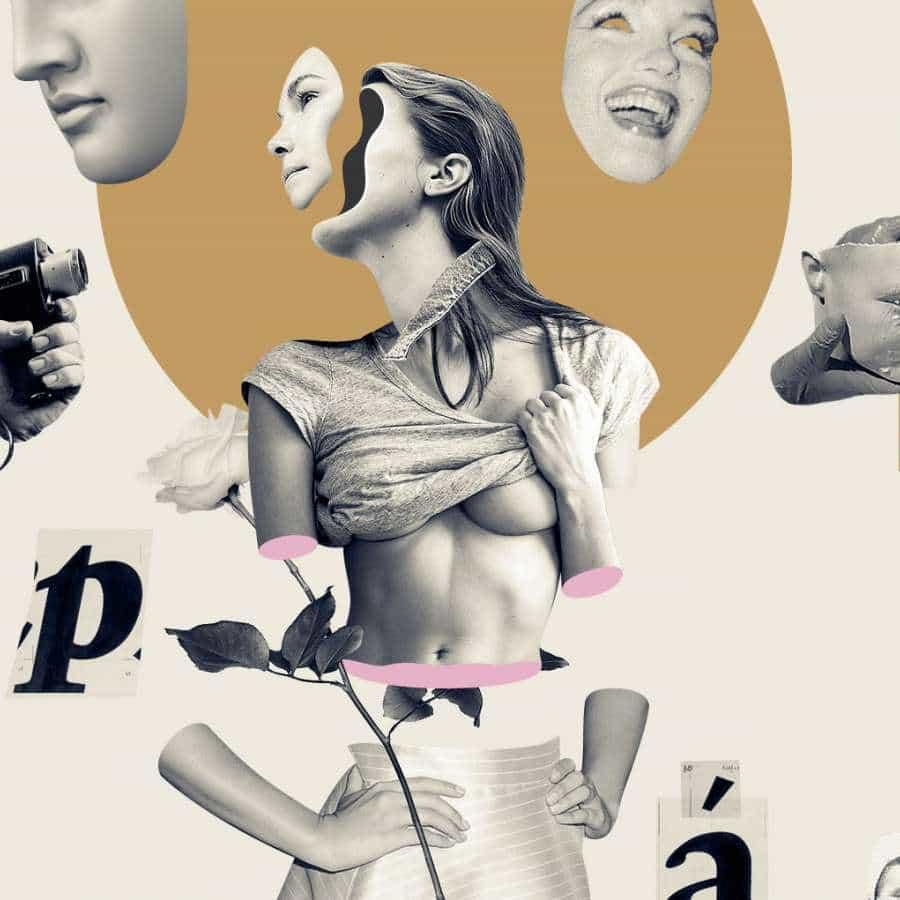 Collage hermosa ilustración de Daniel Escudeiro