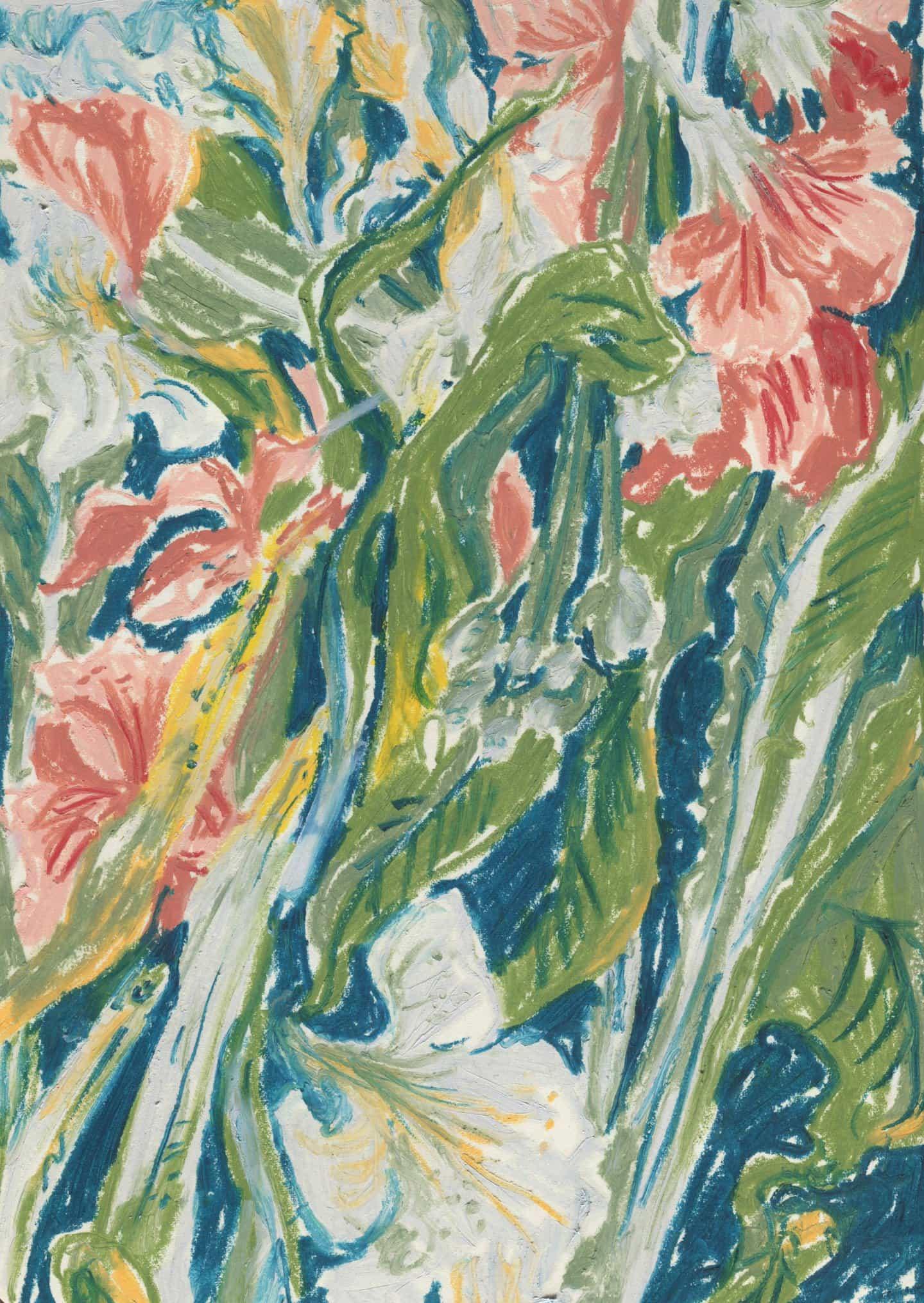 Molley Mayo: Floral con blanco (Copyright © Molley May, 2020)