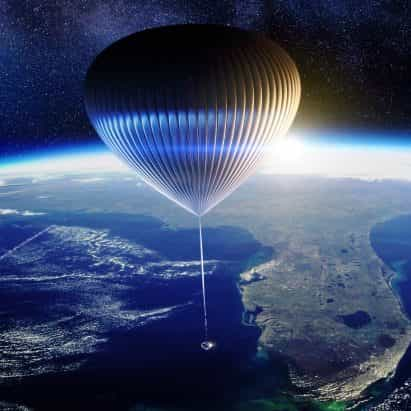 Priestmangoode Neptuno globo volará pasajeros hasta el borde del espacio