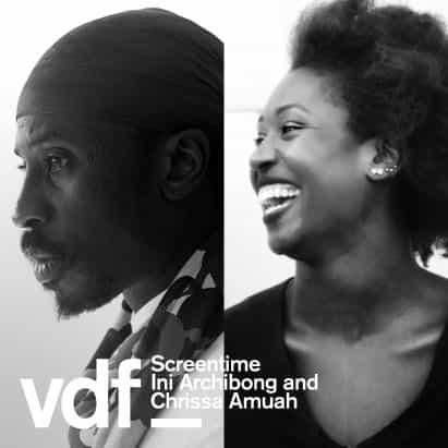 entrevista en vivo con Ini Archibong y Chrissa Amuah como parte del Festival de Diseño Virtual