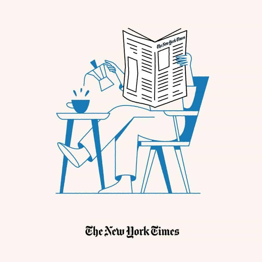 The New York Times - Ilustraciones de entrega a domicilio en movimiento